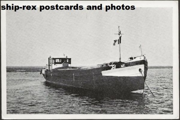 ANNA (fishing vessel) postcard